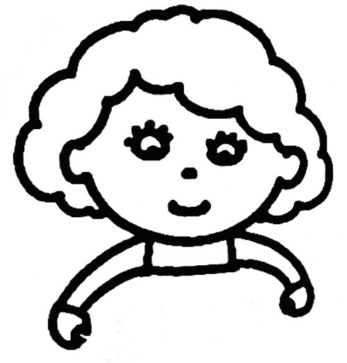 画妈妈的全身简笔画 如何画妈妈的简笔画教程