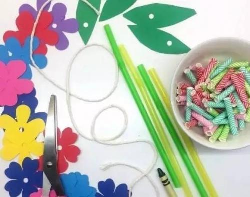 春天的手工作品幼儿园 n款幼儿园春天卡纸手工制作